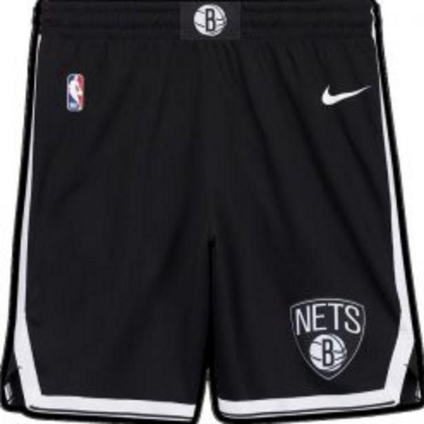 NIKE NBA BROOKLYN NETS SWINGMAN SHORTS BLACK/ WHITE offers at R 1199,95