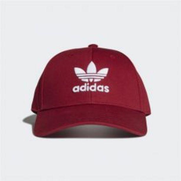 ADIDAS ORIGINALS TREFOIL BASEBALL CAP RED/ WHITE offers at R 199,95