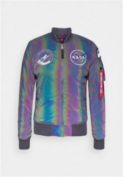 ALPHA NASA RAINBOW REFLECTIVE JACKET SILVER offers at R 2849,95
