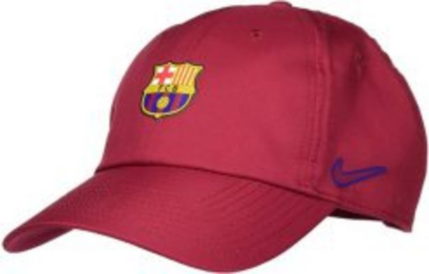 NIKE FC BARCELONA HERITAGE86 CAP NOBLE RED offers at R 399,95