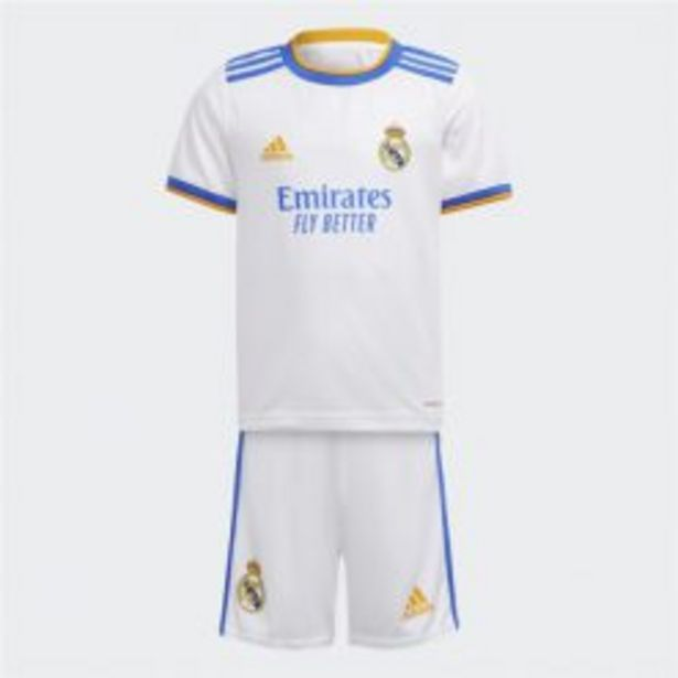 ADIDAS REAL MADRID 21/22 HOME MINI KIT WHITE_ PRESCHOOL BOYS offers at R 899,95