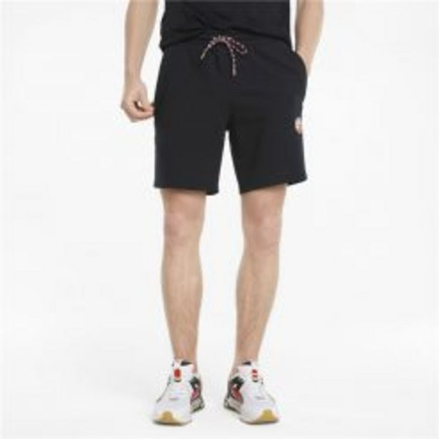 PUMA ART OF SPORT FRENCH TERRY SHORTS BLACK offers at R 899,95