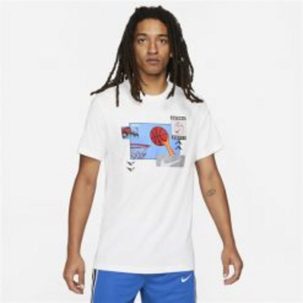 NIKE BASKETBALL PHOTO TEE WHITE offers at R 399,95