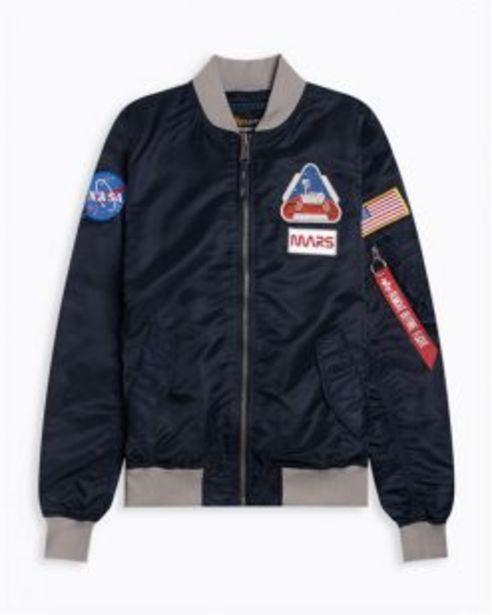 ALPHA MISSION 2 MARS BOMBER JACKET BLUE offers at R 2199,95