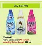 Comfort Fabric Conditioner 3 offer at R 110