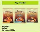 Amajoya Toffees 3 offer at R 45
