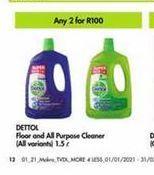 Dettol Cleaner 2  offer at R 100