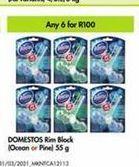Domestos Rim Block 6 offer at R 100