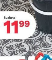 Buckets offer at R 11,99