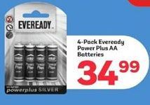 Eveready Batteries  offer at R 34,99