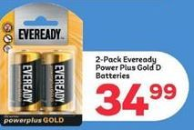 Eveready offer at R 34,99