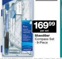 STAEDTLER Compass Set  offer at R 169,99