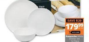 White Dinner Set offer at R 179,99
