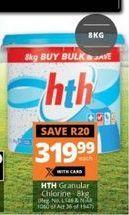 Granular Chlorine offer at R 319,99