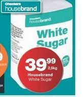 House brand Sugar offer at R 39,99