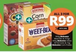 Bokomo Weet-Bix 3 offer at R 99