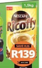 Nescafé Ricoffy  offer at R 139