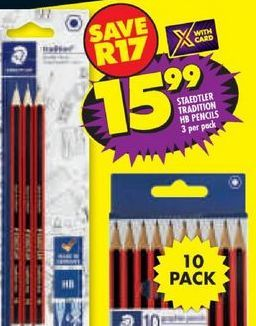 Staedtler Pencils offers at R 15,99