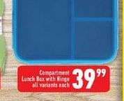 Lunch Box  offers at R 39,99