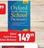 Oxford South African Dictionary offer at R 149,99