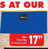 Pencil Bag offers at R 17,99