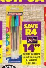 Penflex Pens offers at R 14,99