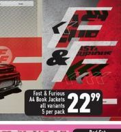 Fast & Furious Book Jackets offers at R 22,99