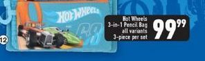 Hot Wheels Pencil Bag offers at R 99,99