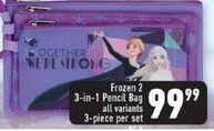 Frozen 2 Pencil Bag offers at R 99,99