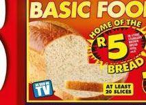 Bread offer at R 5