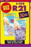 Sta-Soft Fabric Softener 2 offer at R 21