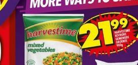 Harvestime Frozen Country Mix Vegetables  offers at R 21,99