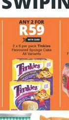Tinkies Sponge Cakes 2 offer at R 59