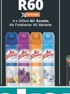 Air Scents Air Freshener  offer at R 60