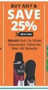 Shield Roll-On offer at