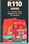 Catmor Cat Food  2 offer at R 110