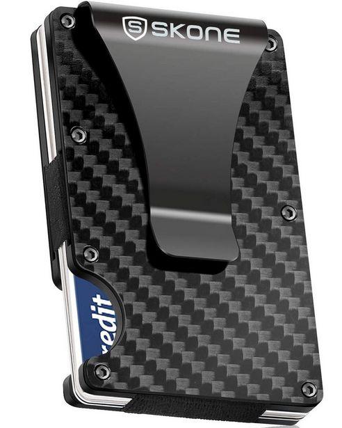 Minimalist Wallet - Card Holder & Money Clip-RFID Blocking offers at R 299