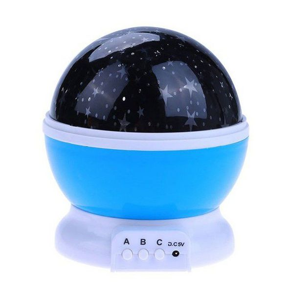 Star Master Rotating Projection Lamp - Blue offer at R 108