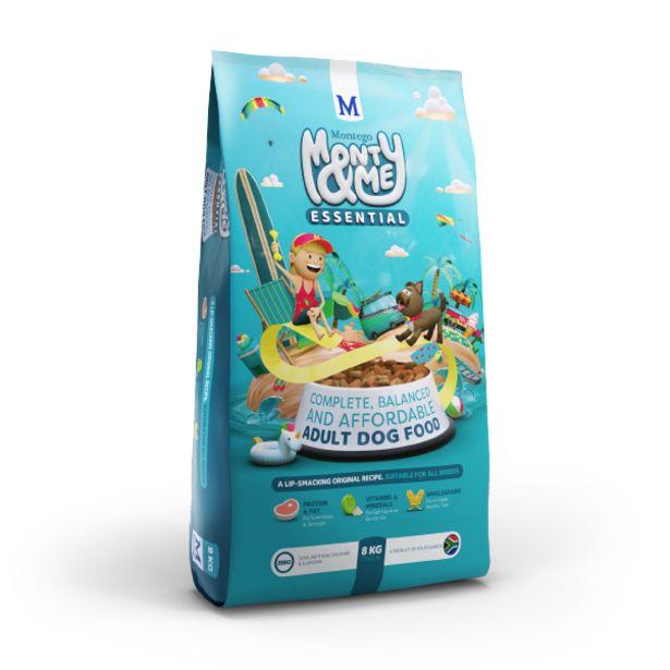 Montego - Monty & Me Essential Dog Food offers at R 129