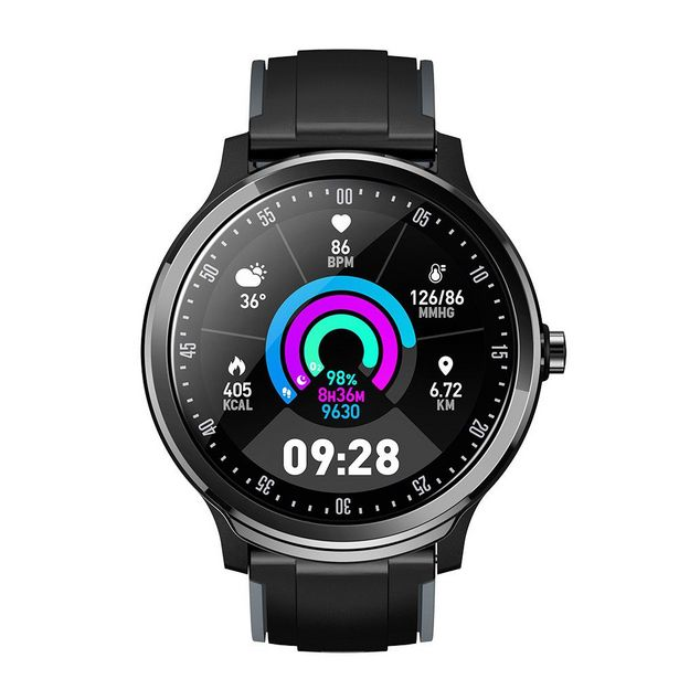 Polaroid Round Carbon Full Touch Active Smart Watch offer at R 799