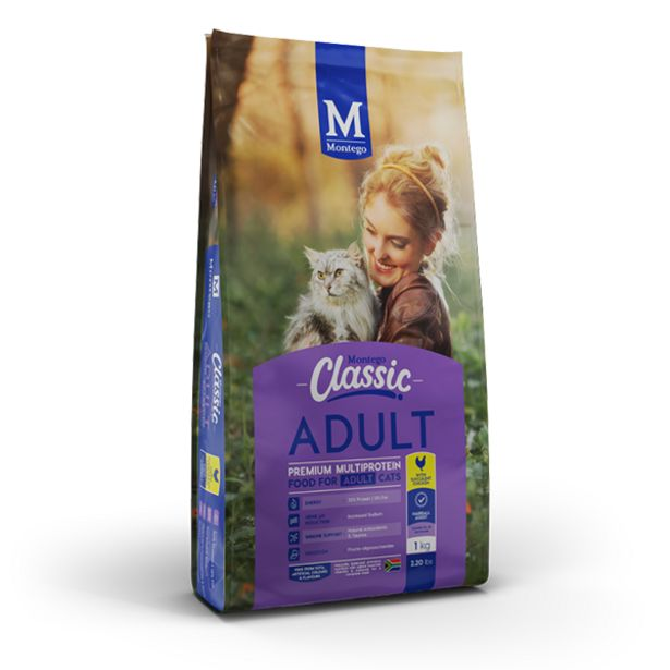 Montego - Classic Adult Cat with Succulent Chicken - 5kg offer at R 169
