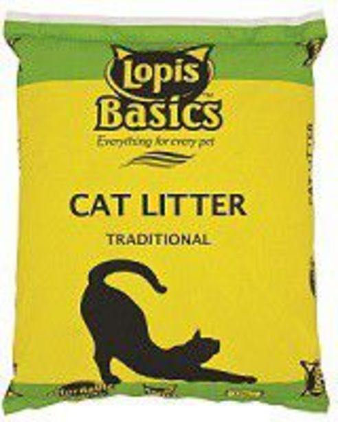 Lopis - Cat Litter - 10kg offer at R 85