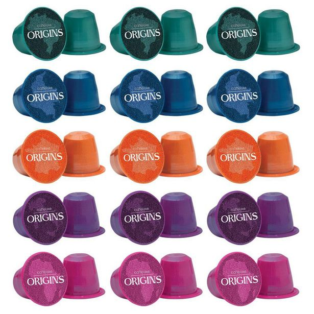 Nespresso Caffeluxe Coffee Capsules -  Origins Mixed Speciality pack 100 offer at R 329