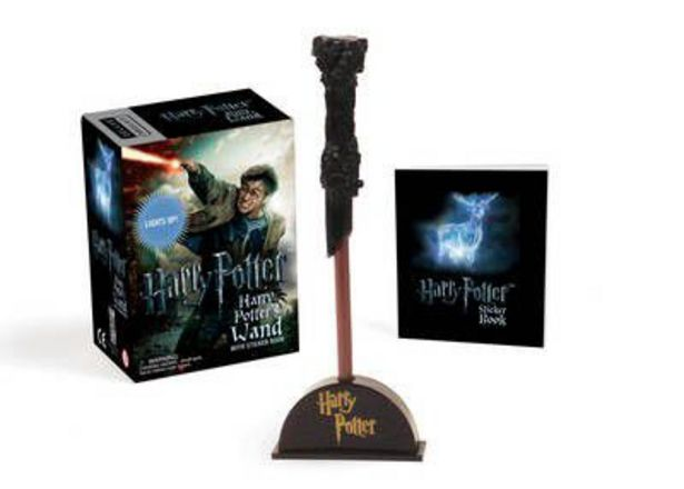 Harry Potter Wizard's Wand with Sticker Book: Lights Up! offer at R 125