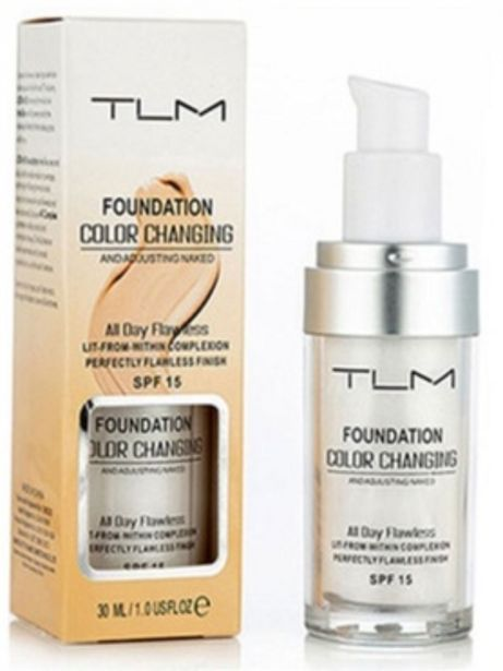 TLM Colour Changing Foundation and Moisturiser offer at R 259