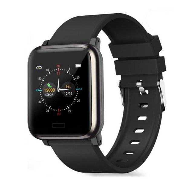 Fitness Activity Heart Rate Tracker Blood Pressure Smart Watch offer at R 639