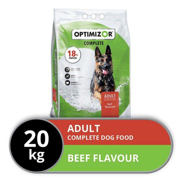 Optimizor - Complete Dog Food - Adult - 20kg offer at R 315