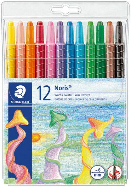 Staedtler Noris Club 12 Wax Twisters offer at R 64