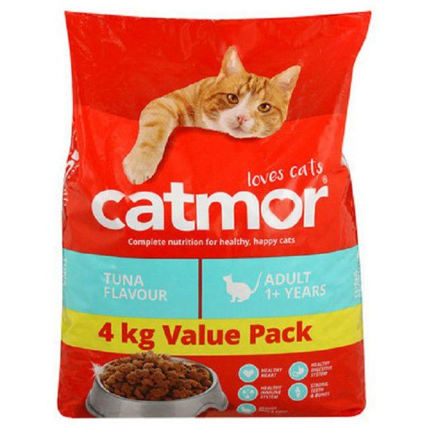 Catmor - Dry Cat Food - Tuna - 4kg offer at R 125
