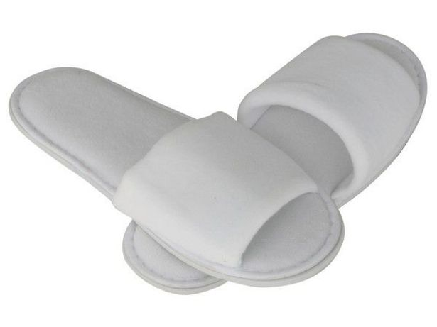 Marco Slippers - White offer at R 44